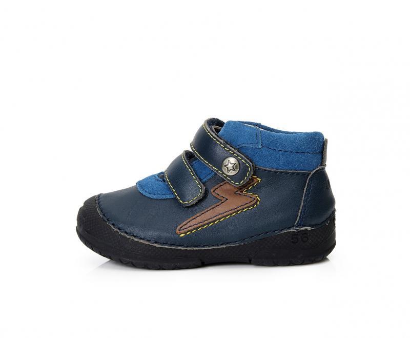 54388cc6dd8e D.D.step detské topánky tmavomodré na suchý zips 19-24 - Kvalitná ...