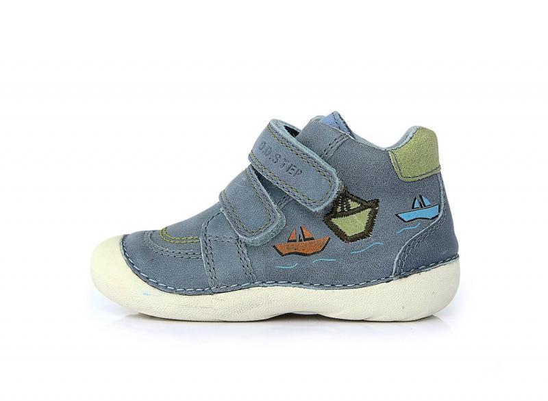 0a2b3f5c895b D.D.step bledomodré detské topánky so suchým zipsom 19-24 - Kvalitná ...