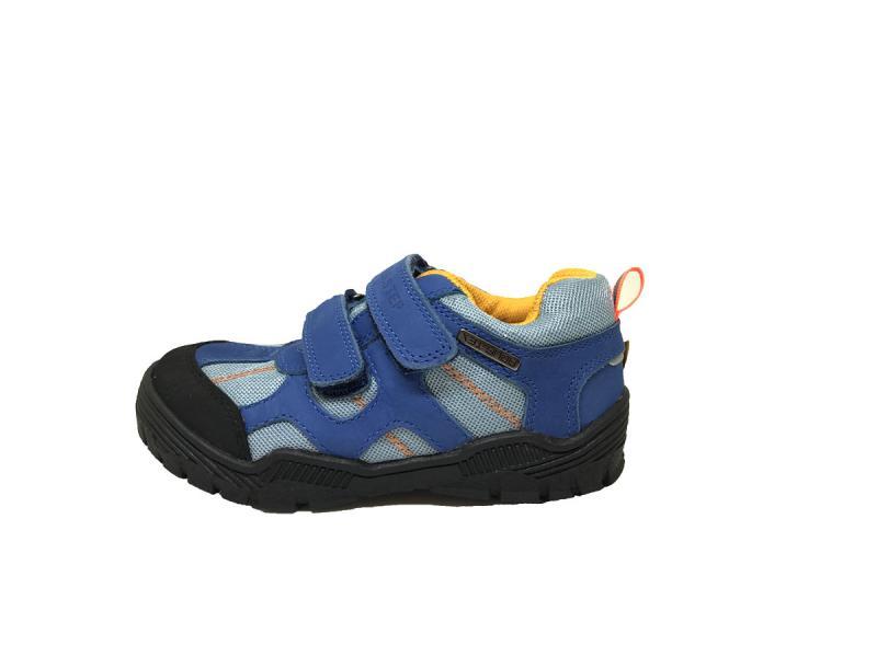 5e5b85e4e6 D.D.step detské topánky na suchý zips modrej farby 30-35