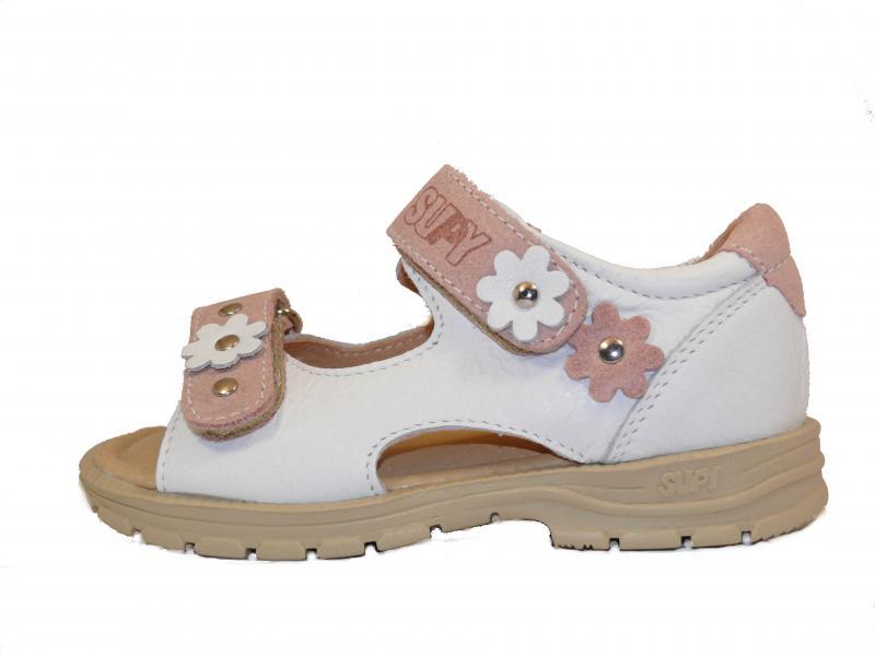Supykids MIMI dětské sandály bílé barvy 31-32 - 2