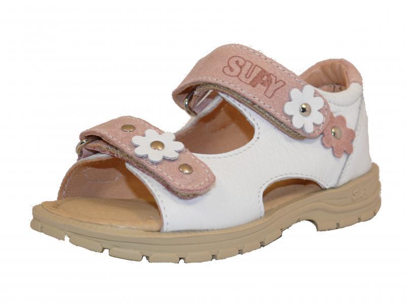 Supykids MIMI dětské sandály bílé barvy 31-32 - 3