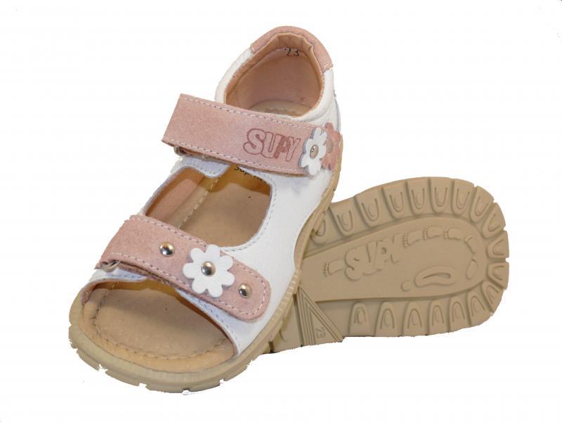 Supykids MIMI dětské sandály bílé barvy 31-32 - 4